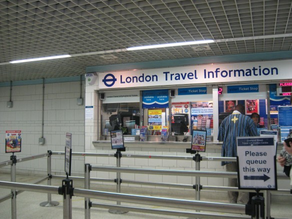 Travel Information Office - Liverpool Street